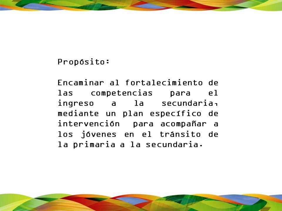 Propósito: