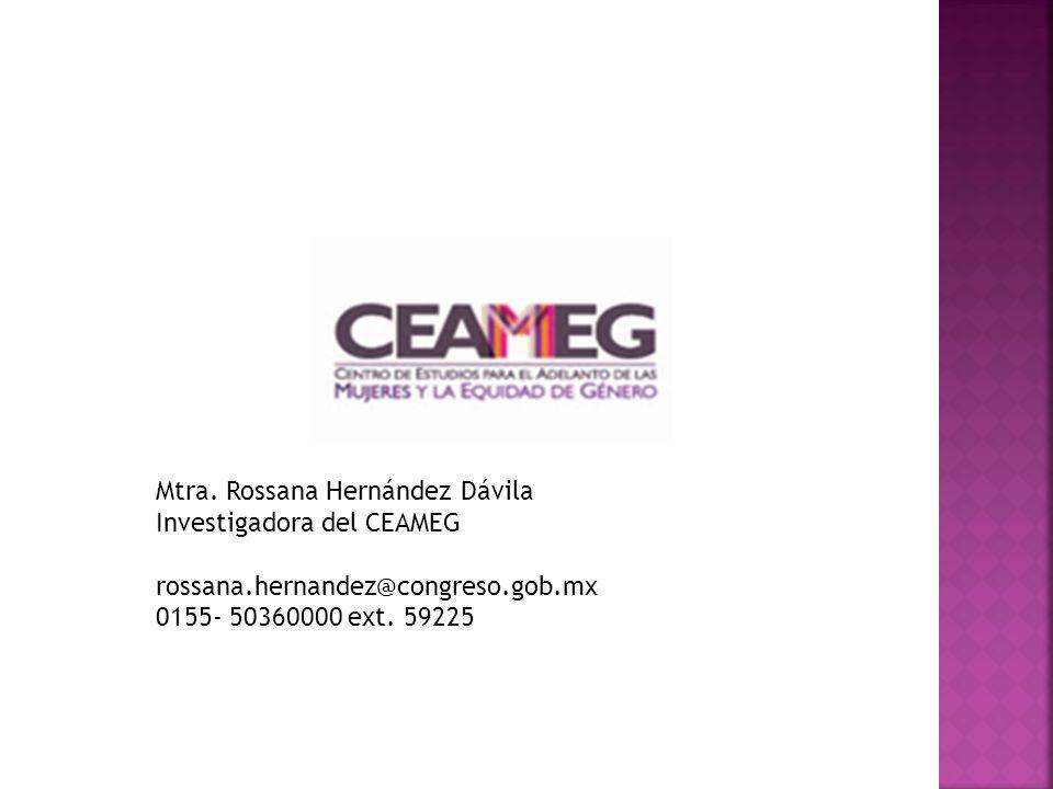 Mtra. Rossana Hernández Dávila