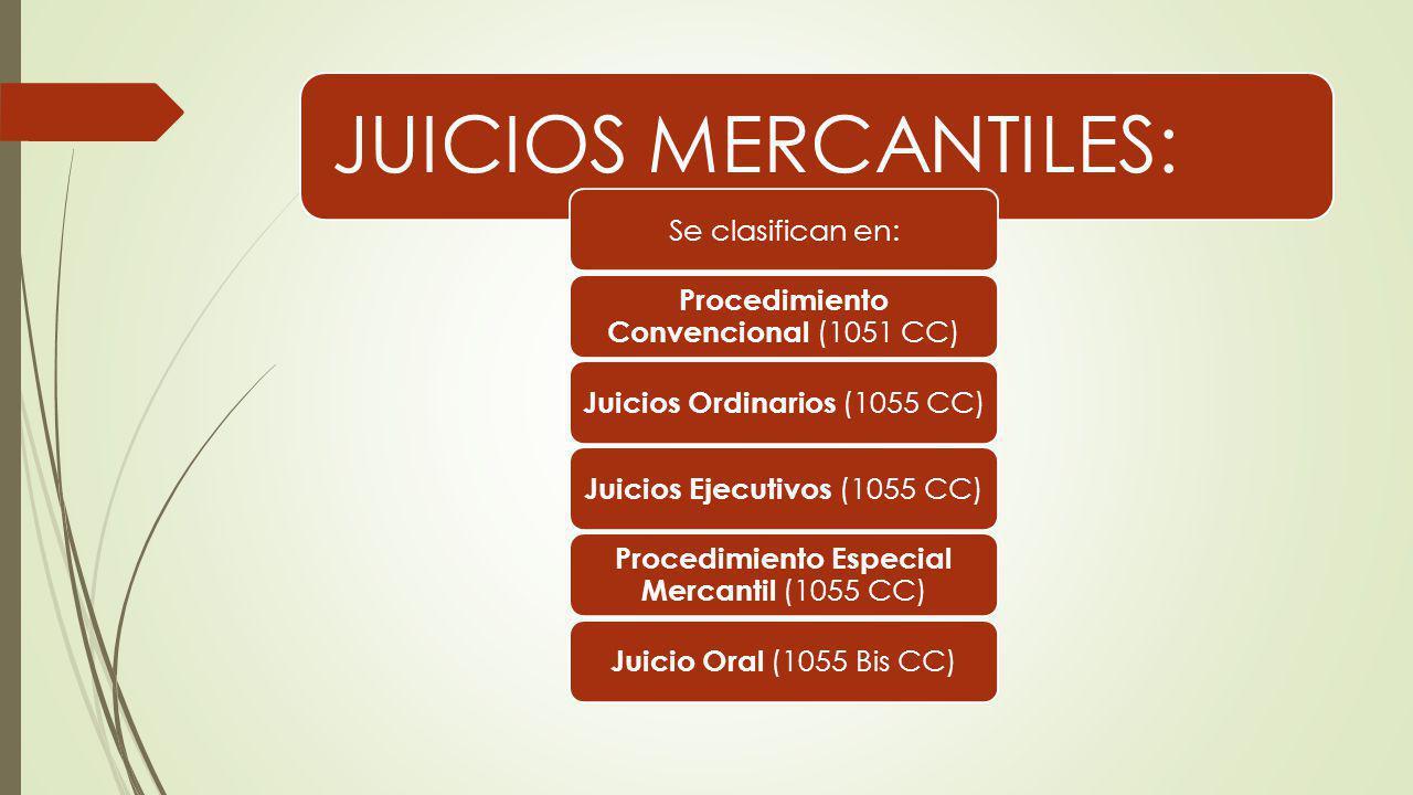 Procedimiento Convencional (1051 CC)