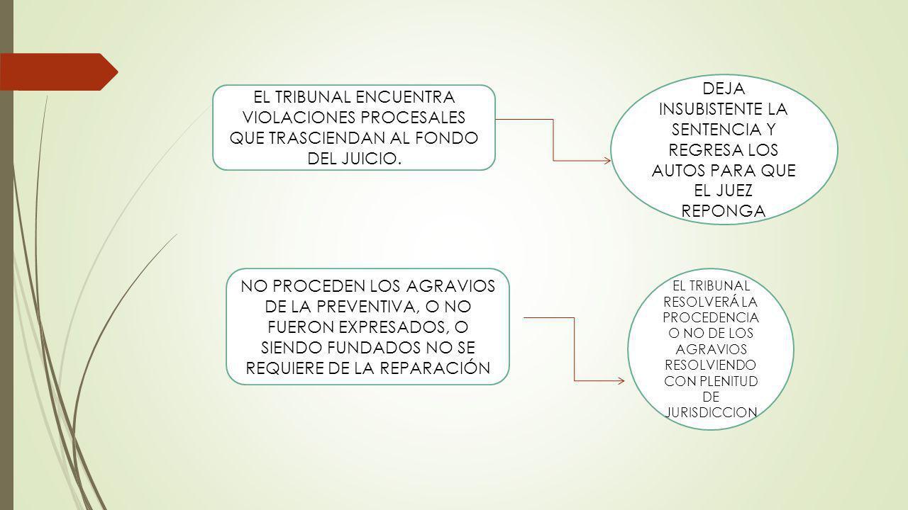 DEJA INSUBISTENTE LA SENTENCIA Y REGRESA LOS AUTOS PARA QUE EL JUEZ REPONGA