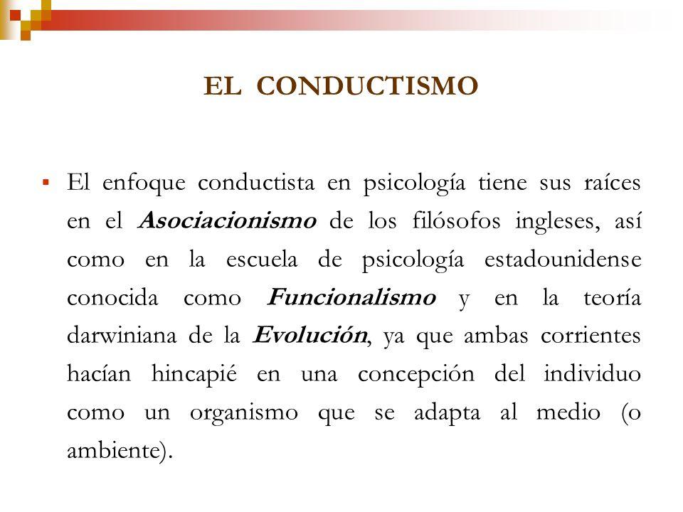 EL CONDUCTISMO