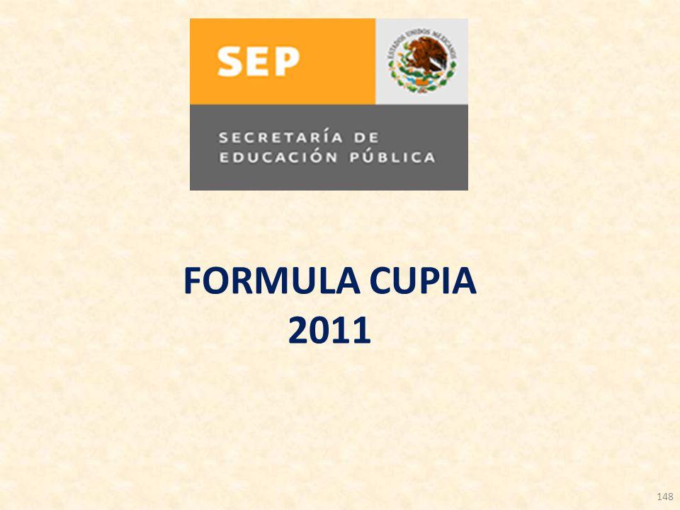 FORMULA CUPIA 2011 148 148