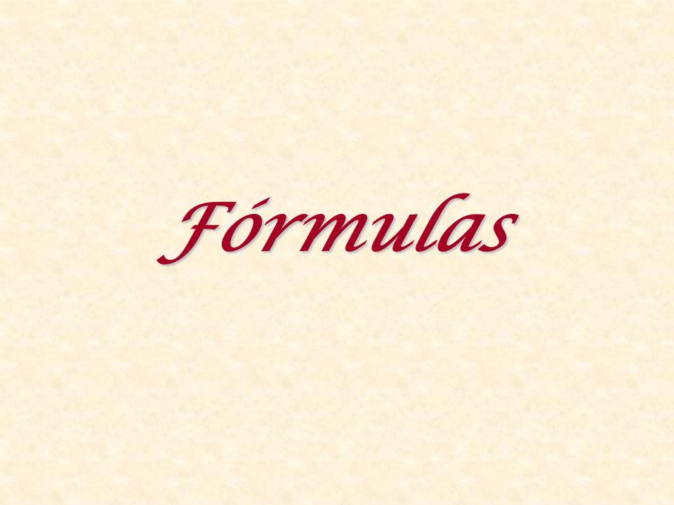 Fórmulas 156