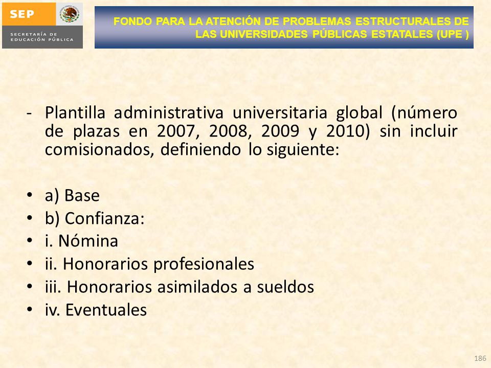 ii. Honorarios profesionales iii. Honorarios asimilados a sueldos