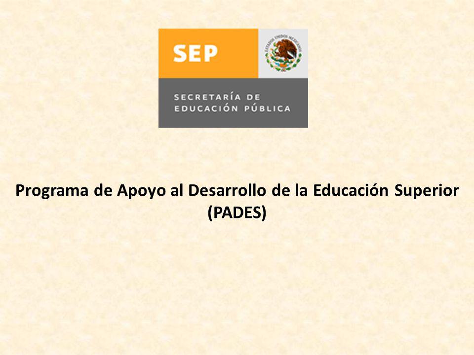 Programa de Apoyo al Desarrollo de la Educación Superior
