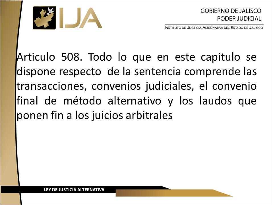 Articulo 508.