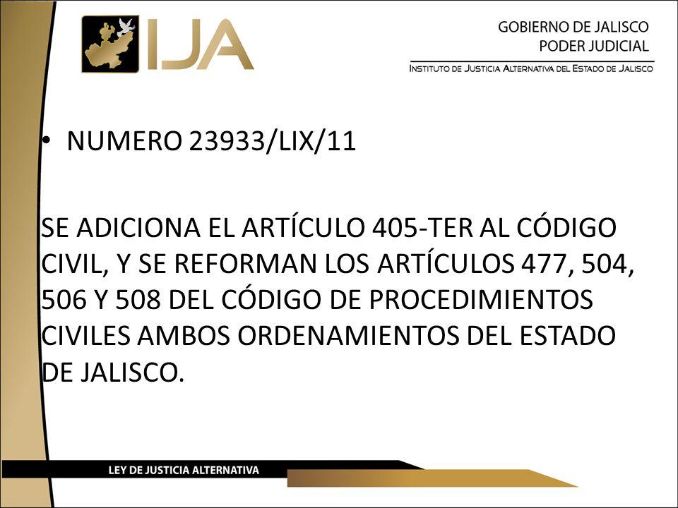 NUMERO 23933/LIX/11