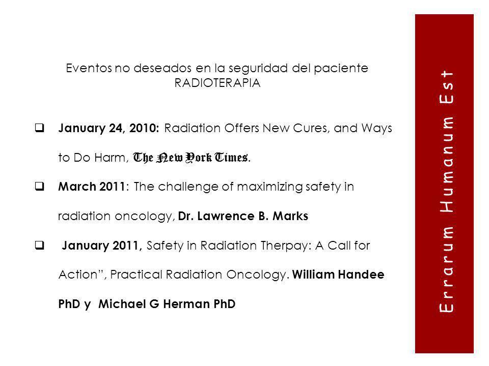 Eventos no deseados en la seguridad del paciente