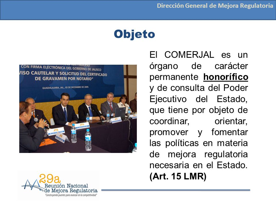 Dirección General de Mejora Regulatoria