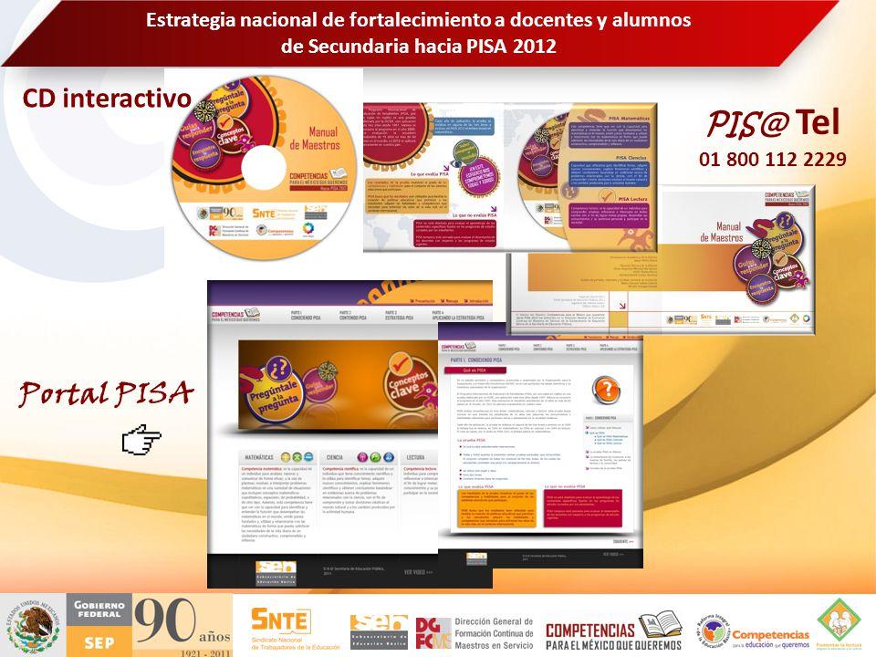 CD interactivo PIS@ Tel Portal PISA