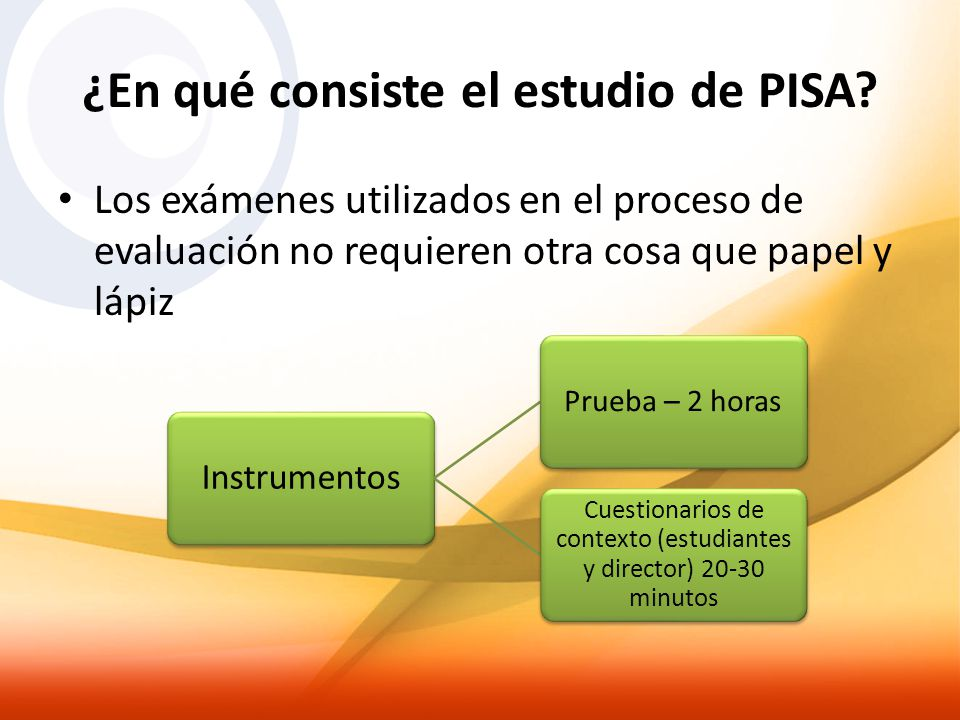 ¿En qué consiste el estudio de PISA