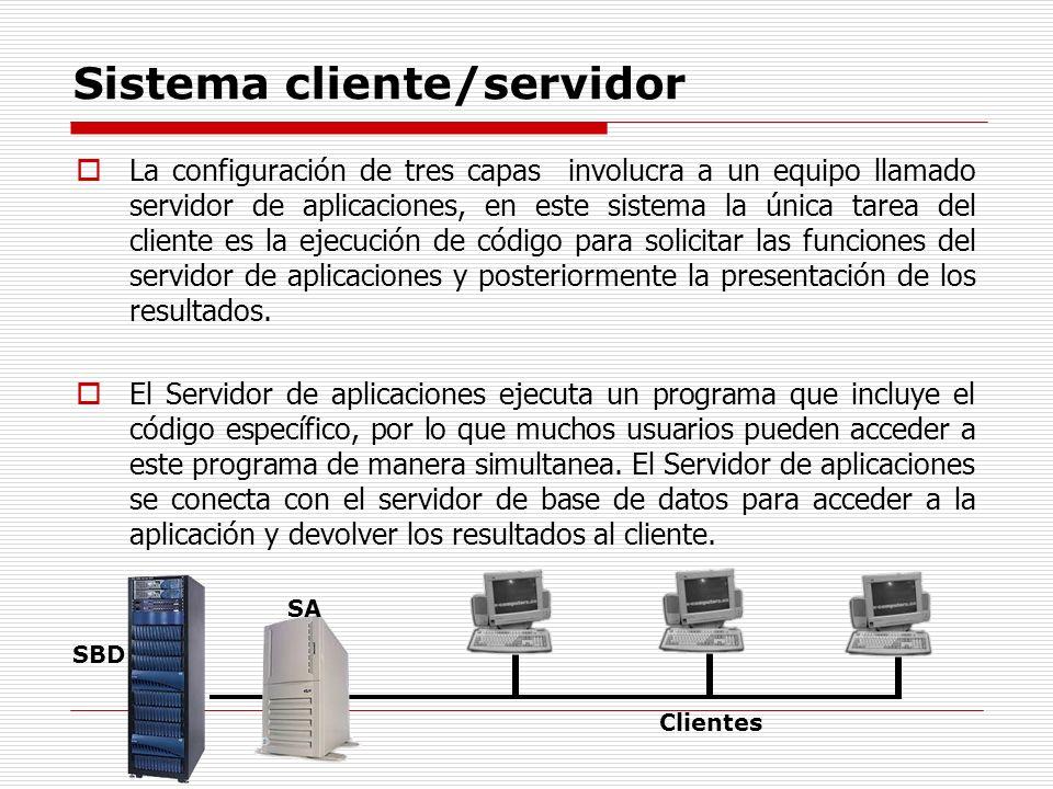 Sistema cliente/servidor