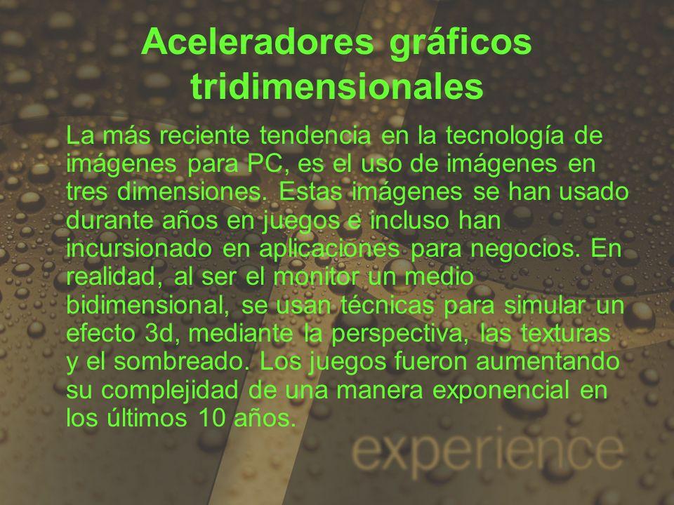 Aceleradores gráficos tridimensionales