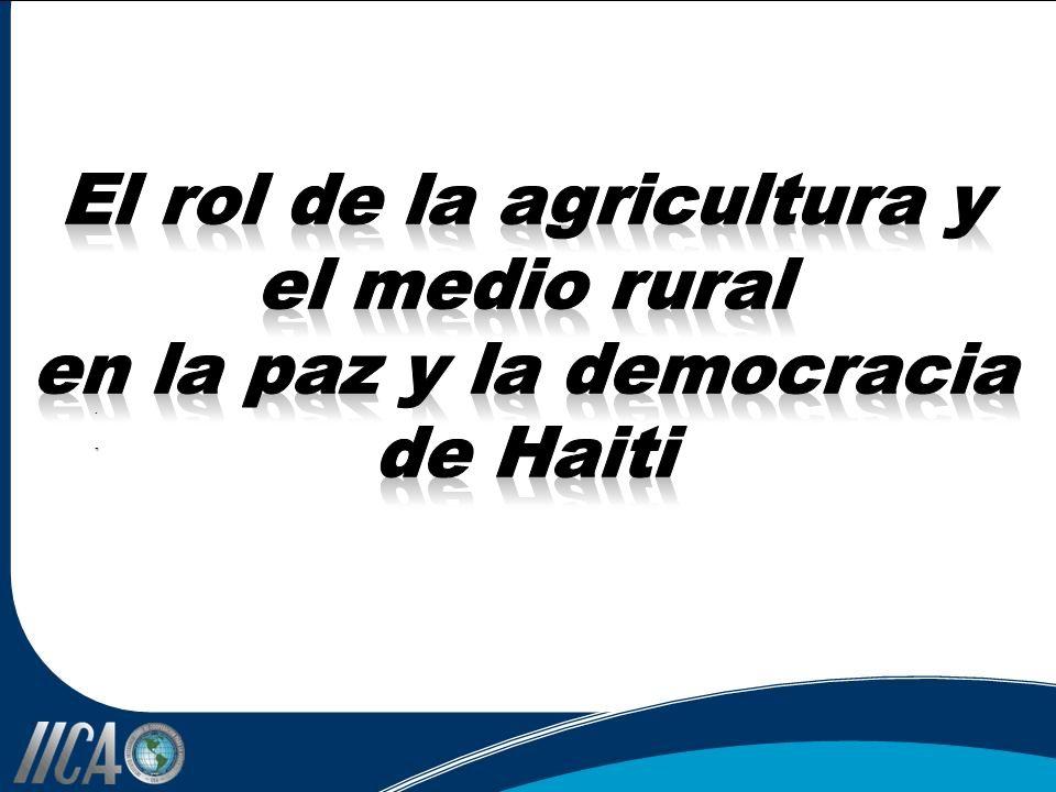 El rol de la agricultura y el medio rural