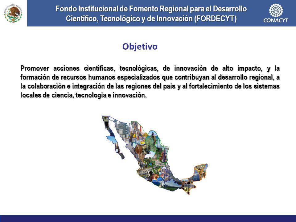 Fondo Institucional de Fomento Regional para el Desarrollo Científico, Tecnológico y de Innovación (FORDECYT)