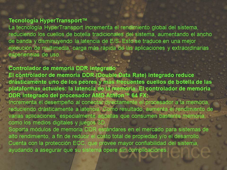 Tecnología HyperTransport™