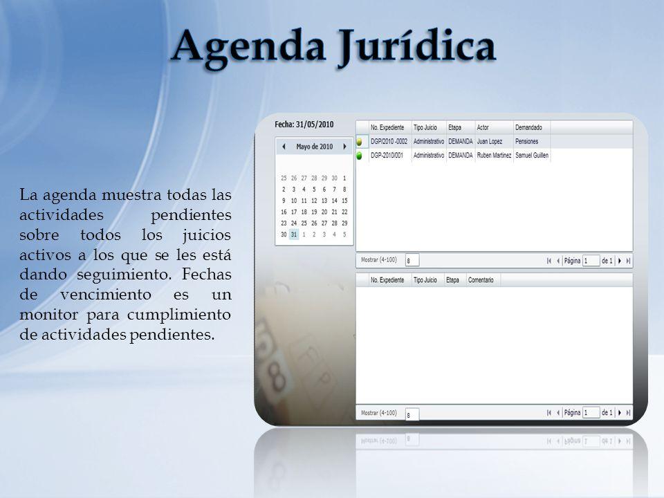 Agenda Jurídica