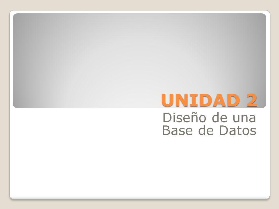 Diseño de una Base de Datos