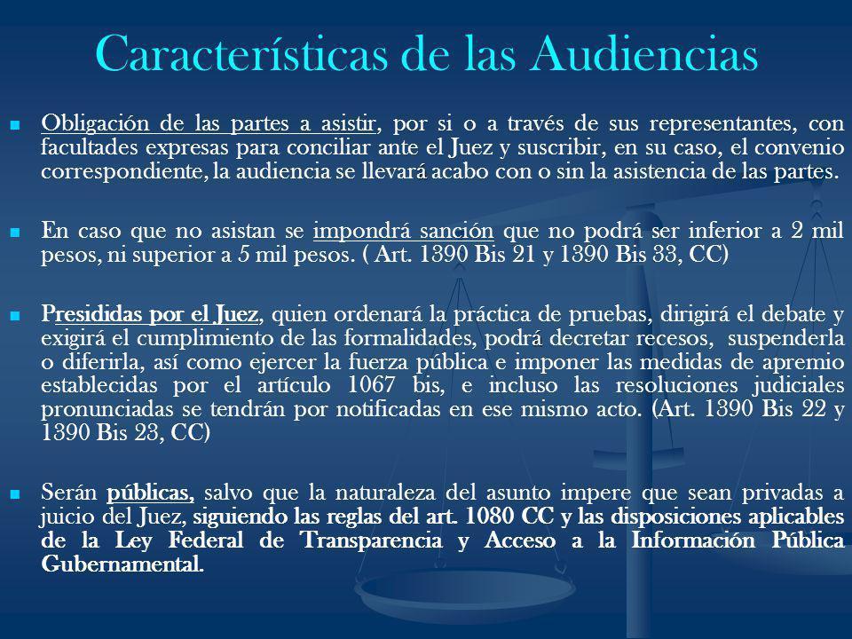Características de las Audiencias
