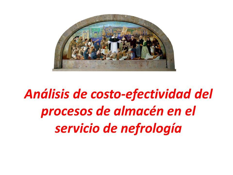 Análisis de costo-efectividad del procesos de almacén en el