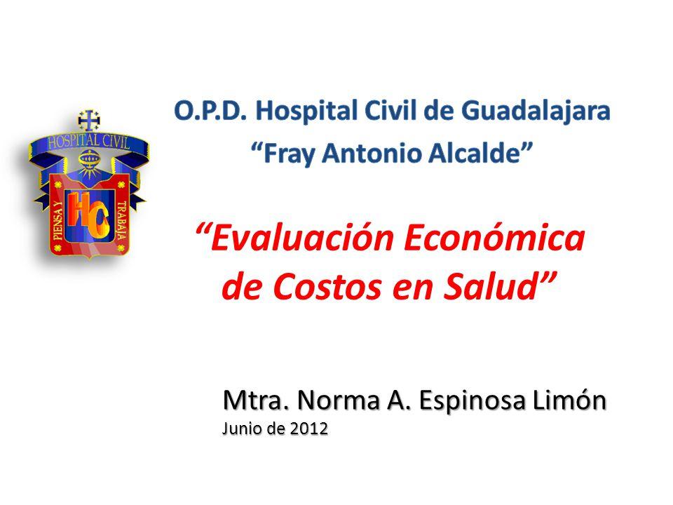Evaluación Económica de Costos en Salud