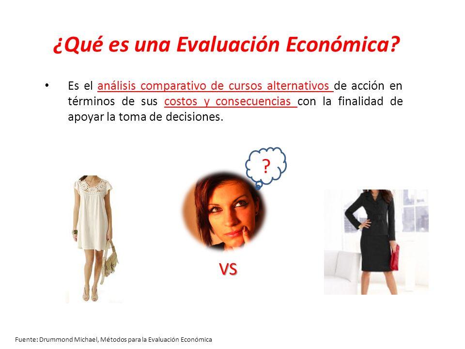 ¿Qué es una Evaluación Económica