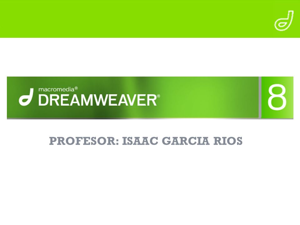 PROFESOR: ISAAC GARCIA RIOS