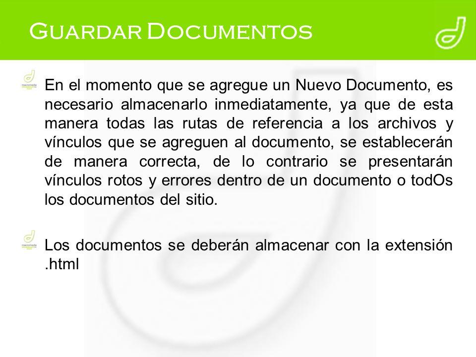 ¿Qué pasa si no se guarda el documento Reglas para nombrar un archivo
