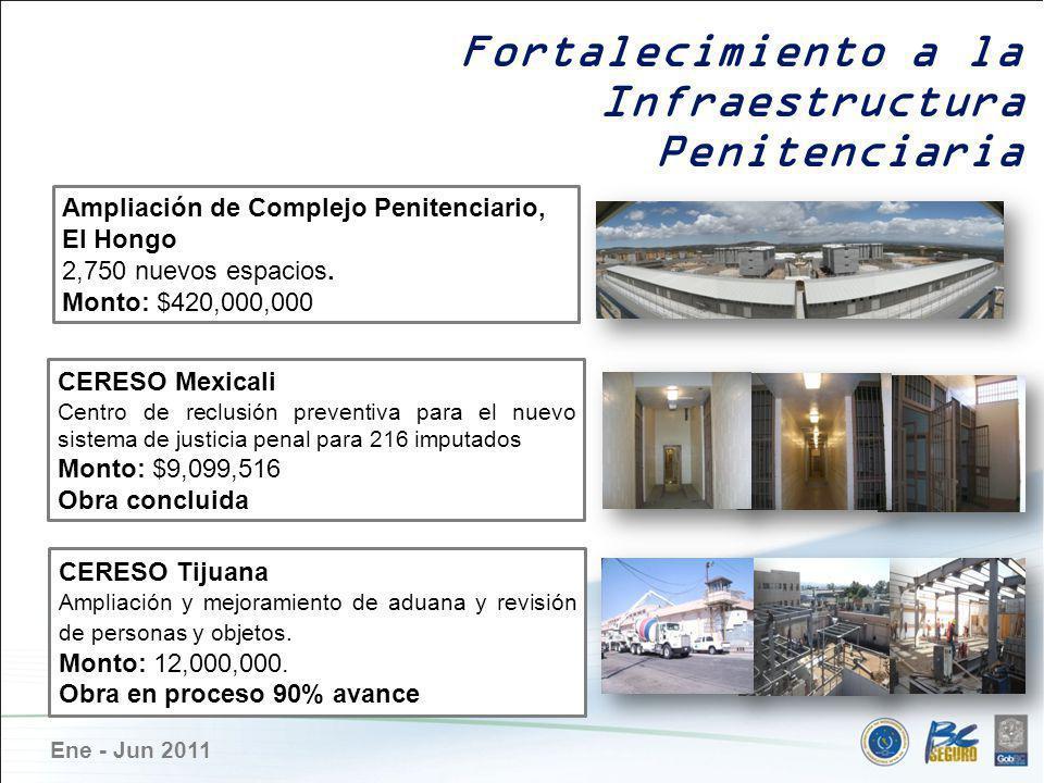 Infraestructura Penitenciaria