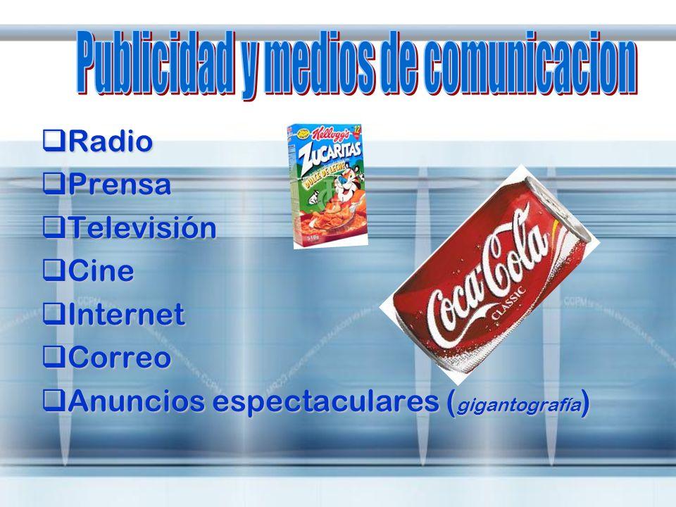 Publicidad y medios de comunicacion