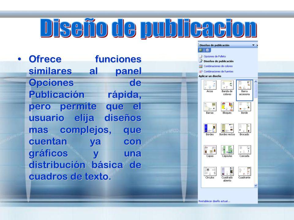 Diseño de publicacion