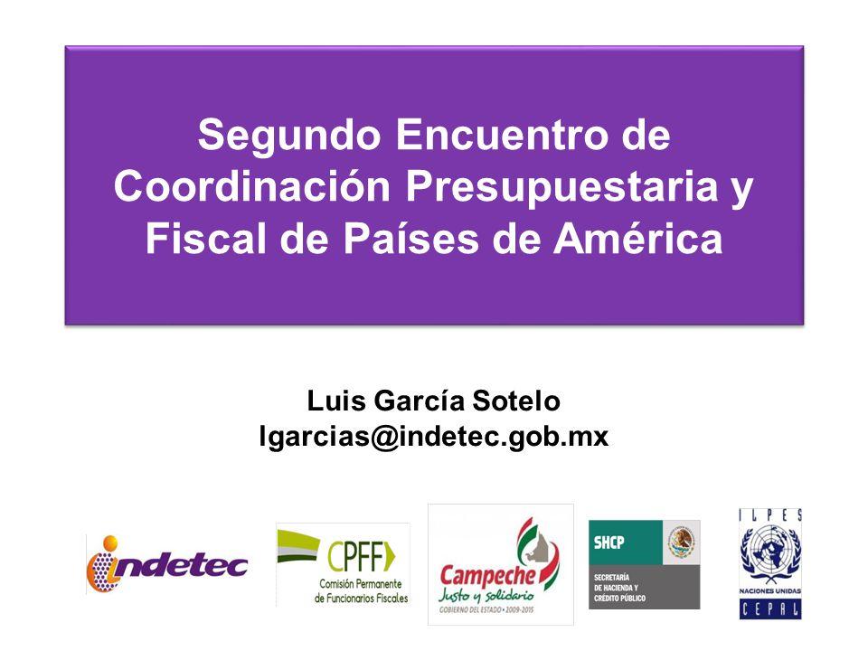 Segundo Encuentro de Coordinación Presupuestaria y Fiscal de Países de América