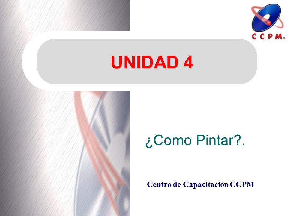 UNIDAD 4 ¿Como Pintar .