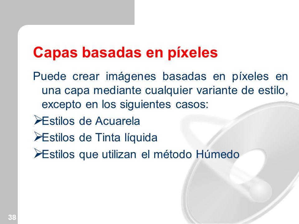 Capas basadas en píxeles