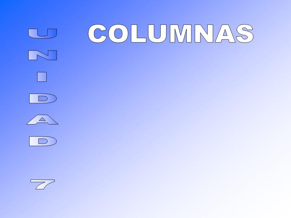 COLUMNAS UNIDAD 7