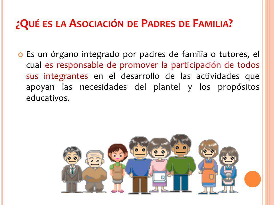 ¿Qué es la Asociación de Padres de Familia