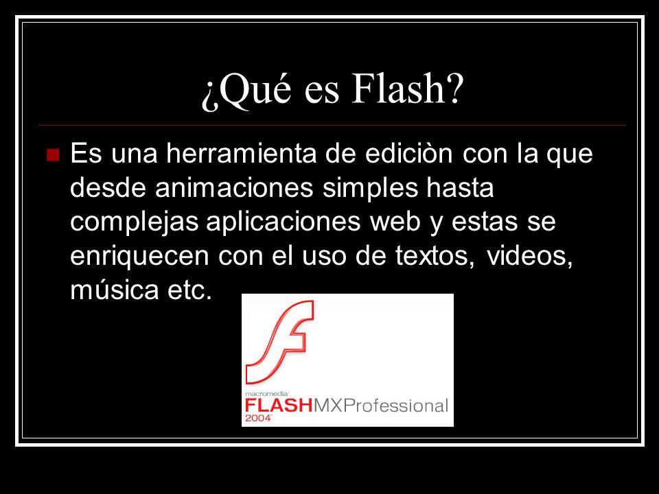 ¿Qué es Flash