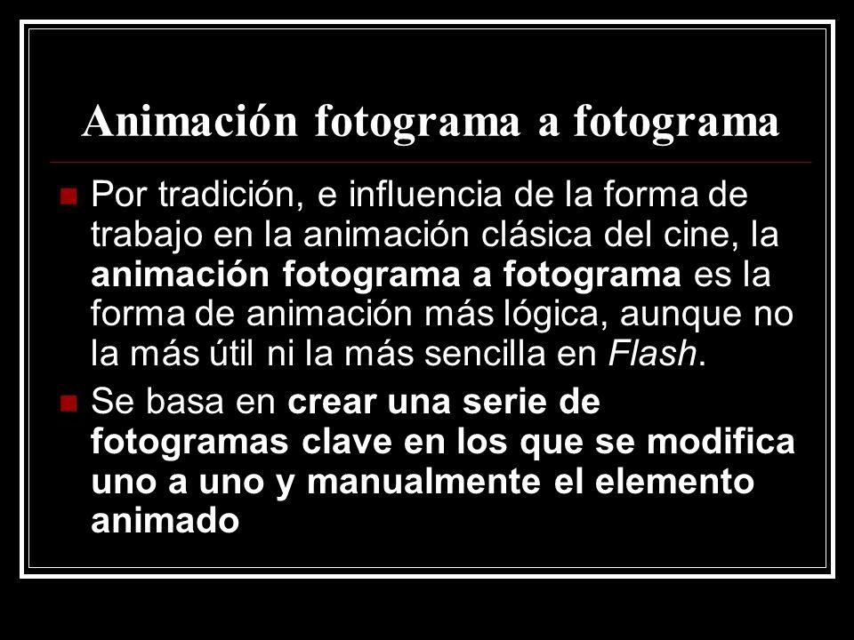 Animación fotograma a fotograma
