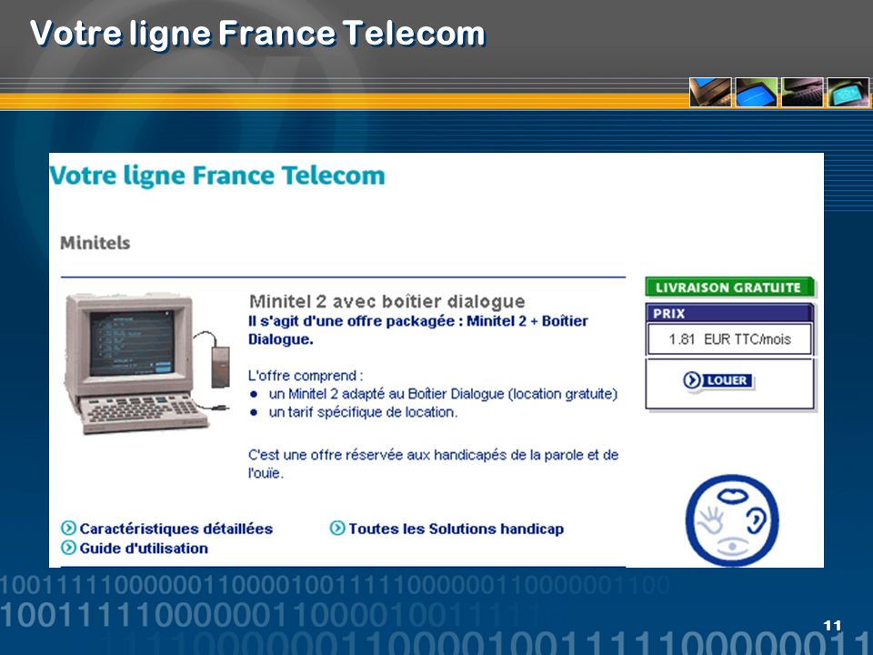 Votre ligne France Telecom