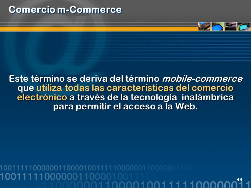 Comercio m-Commerce