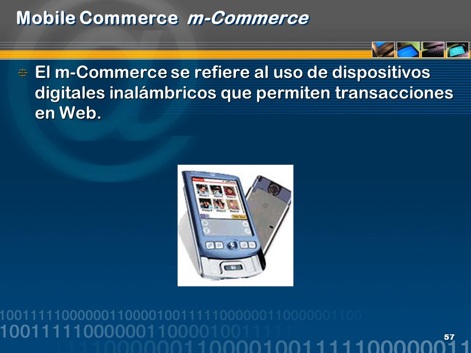 Mobile Commerce m-Commerce