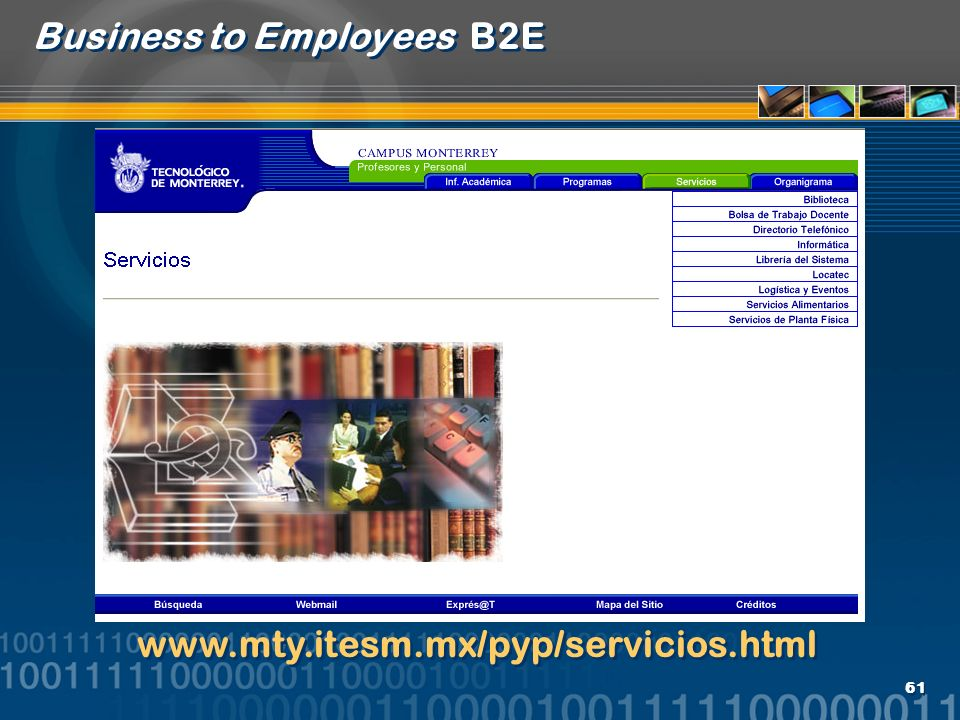 Business to Employees B2E