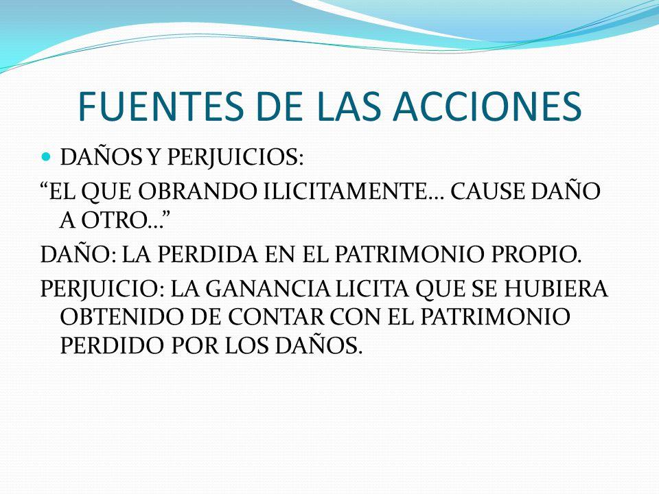 FUENTES DE LAS ACCIONES