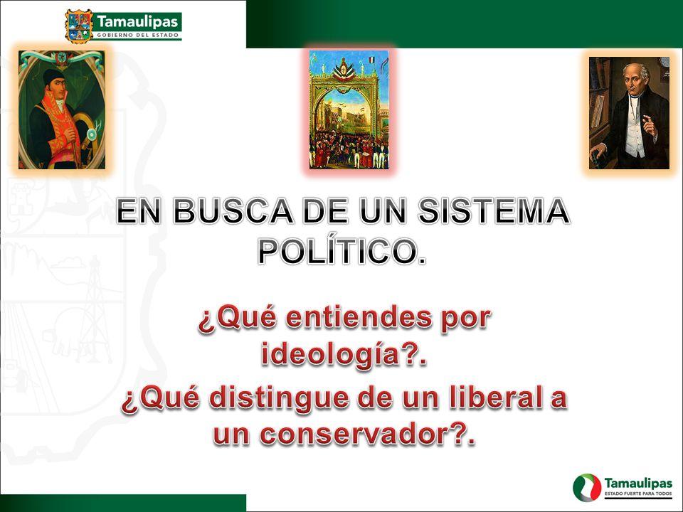 EN BUSCA DE UN SISTEMA POLÍTICO.