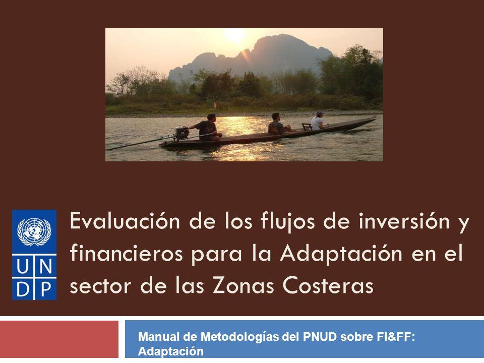 Evaluación de los flujos de inversión y financieros para la Adaptación en el sector de las Zonas Costeras