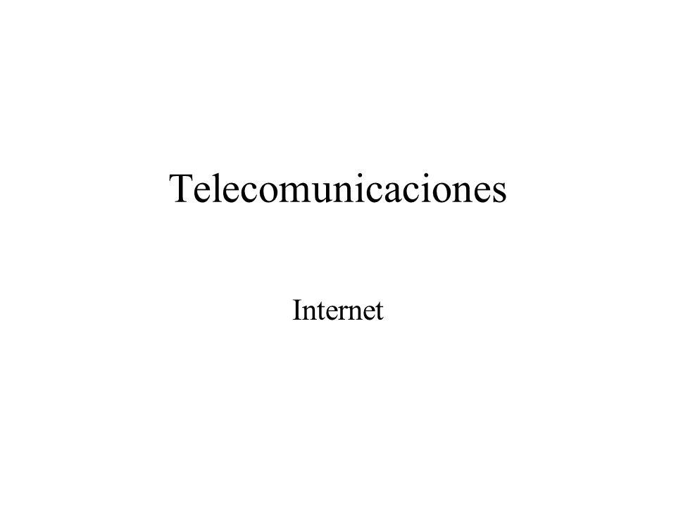 Telecomunicaciones Internet