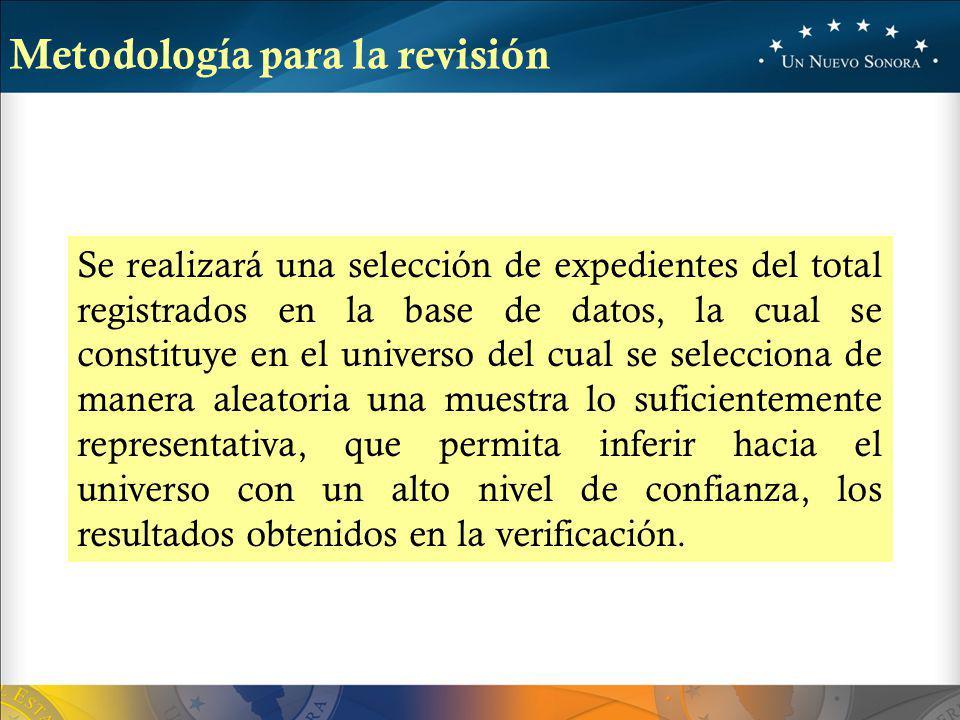 Metodología para la revisión