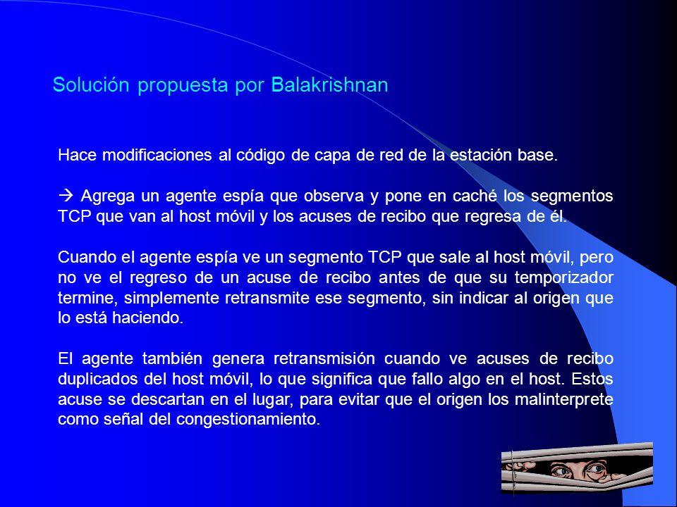 Solución propuesta por Balakrishnan