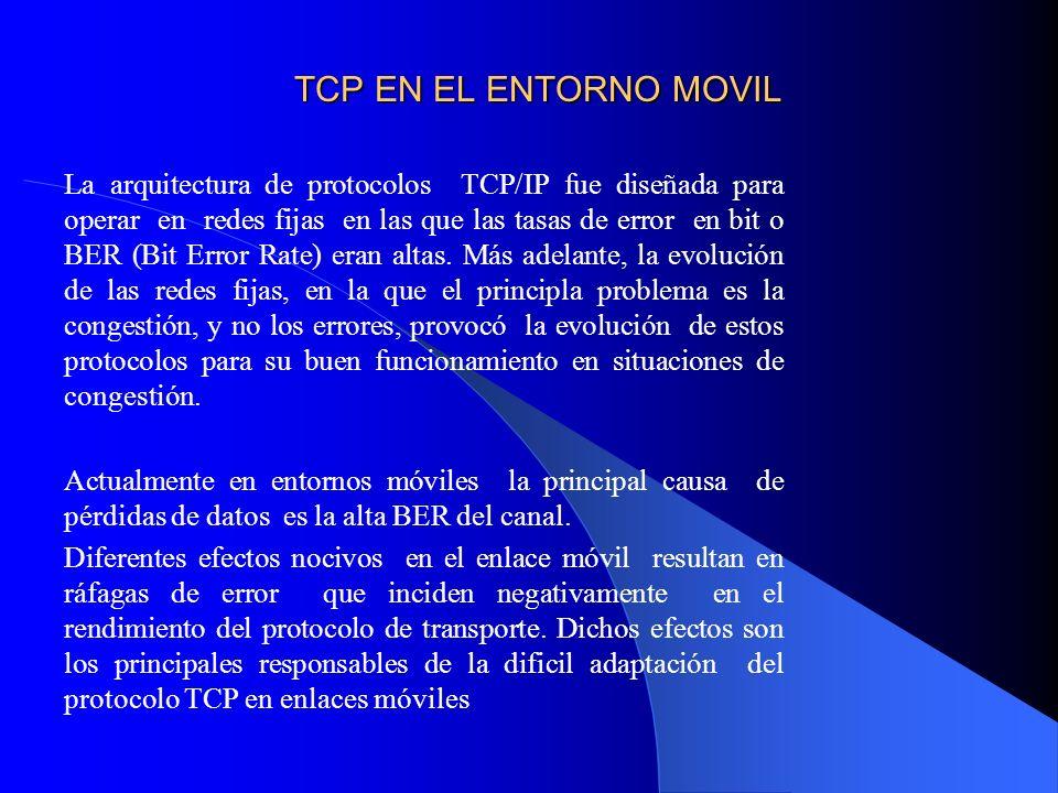 TCP EN EL ENTORNO MOVIL