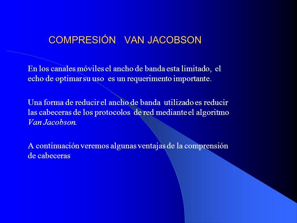 COMPRESIÓN VAN JACOBSON